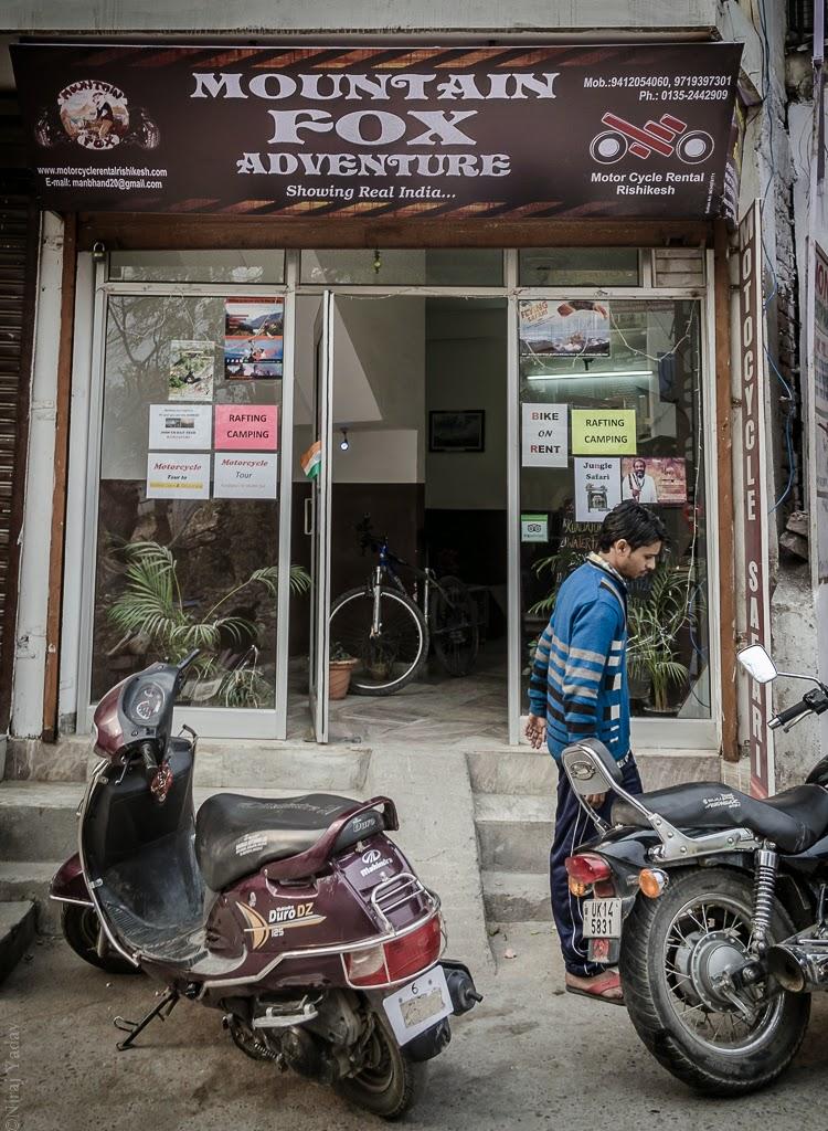 bike trip to Badrinath in winter