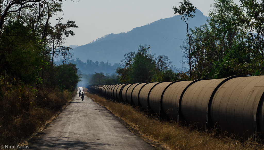 tansa dam, pipeline