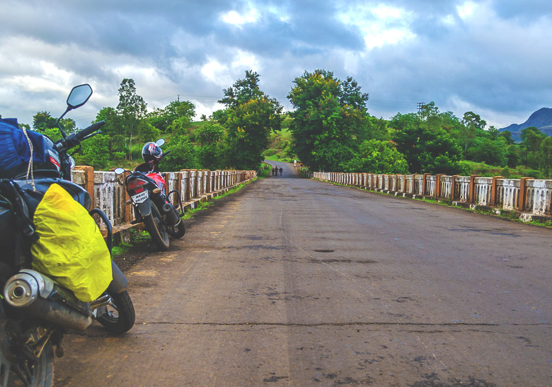 Bike trip to Purushwadi