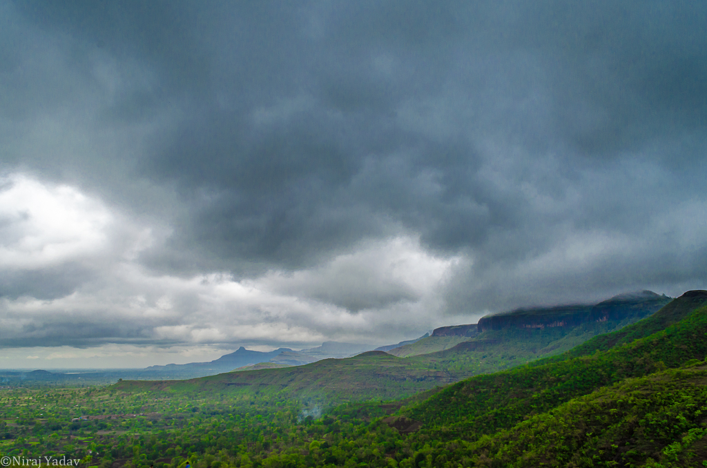 Ghat between Igatpuri Bhandardara