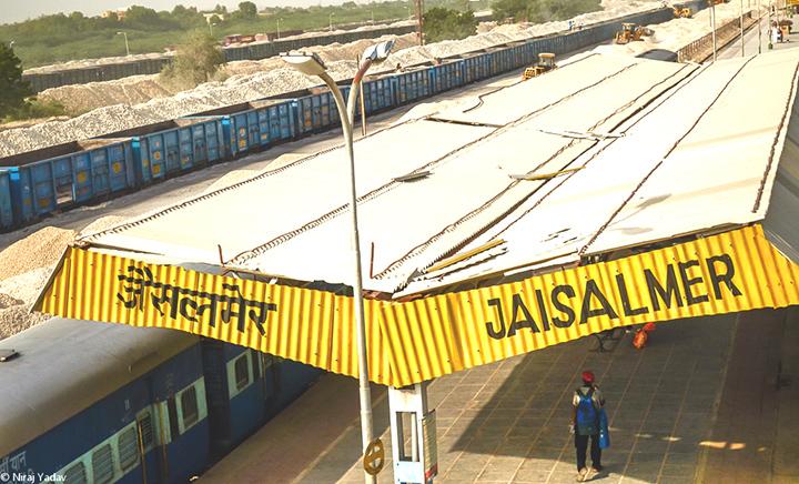 Jaisalmer Railway Station Rajasthan
