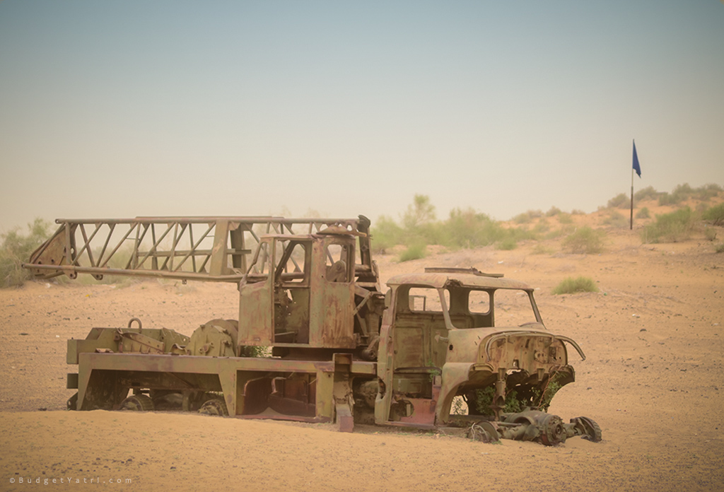 Longewala-captured-pakistani-vehicle-1971-war