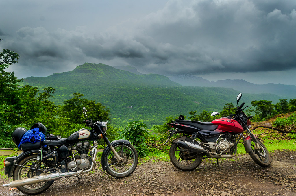 Beautiful western ghat, offroad bikes rides