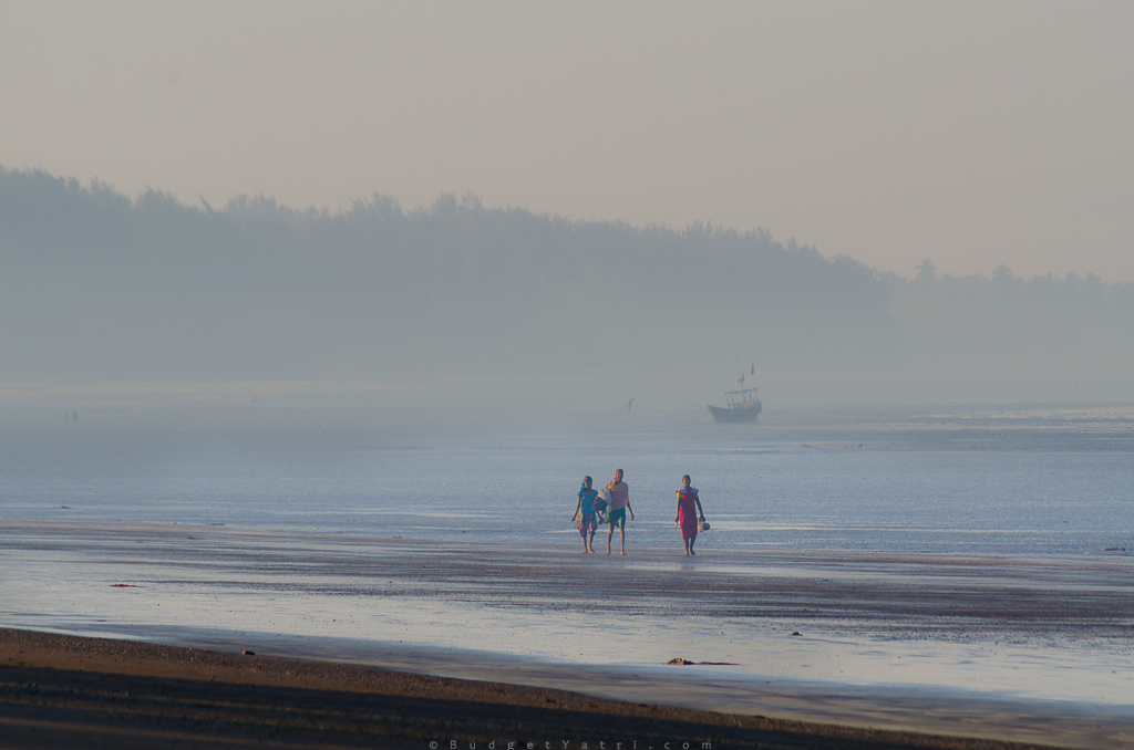 morning-at-bordi-beach, Bordi beach