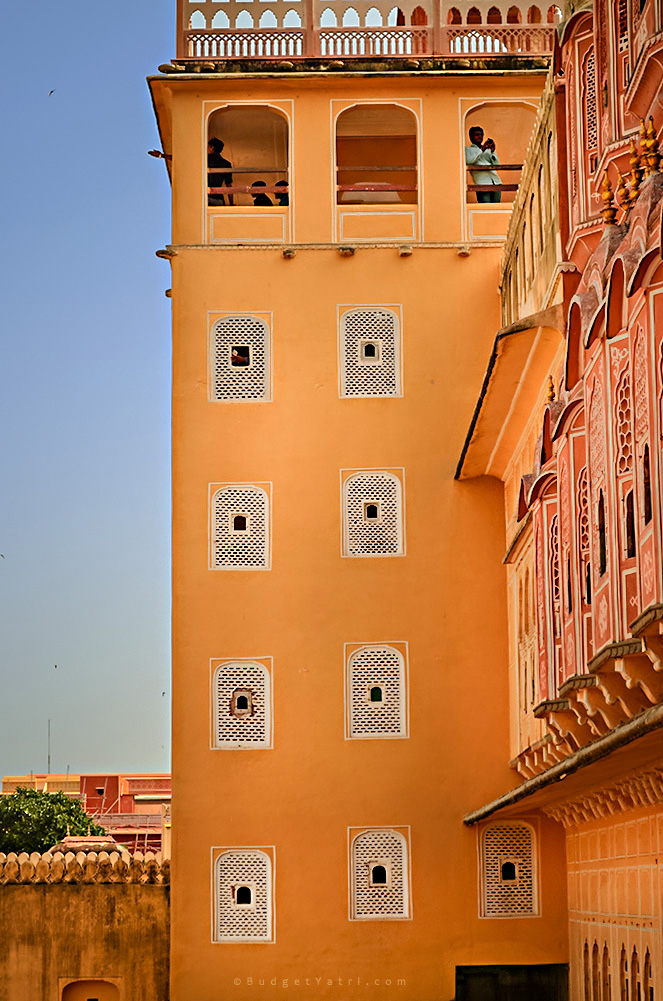 Jaipur Hawa Mahal palace photo