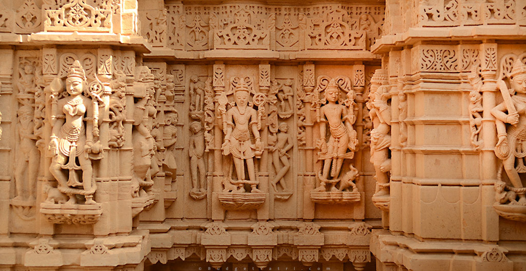 Jaisalmer Fort Jain Temple God Statues