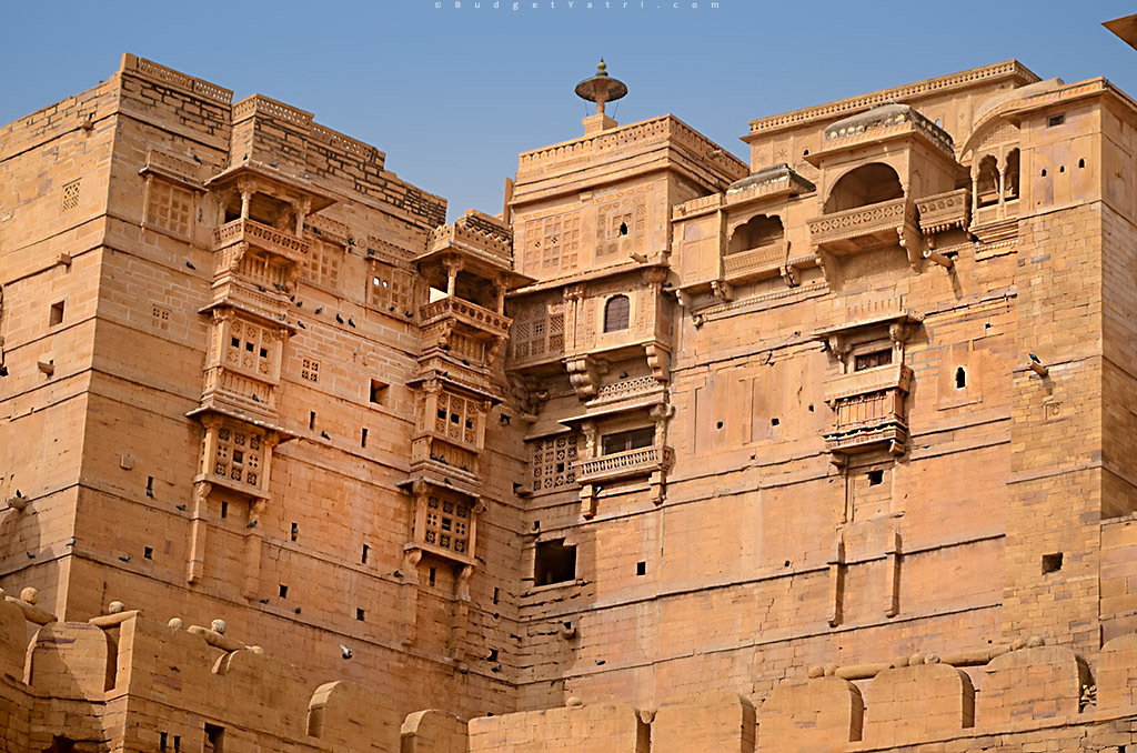 Jaisalmer-Fort-Side-View