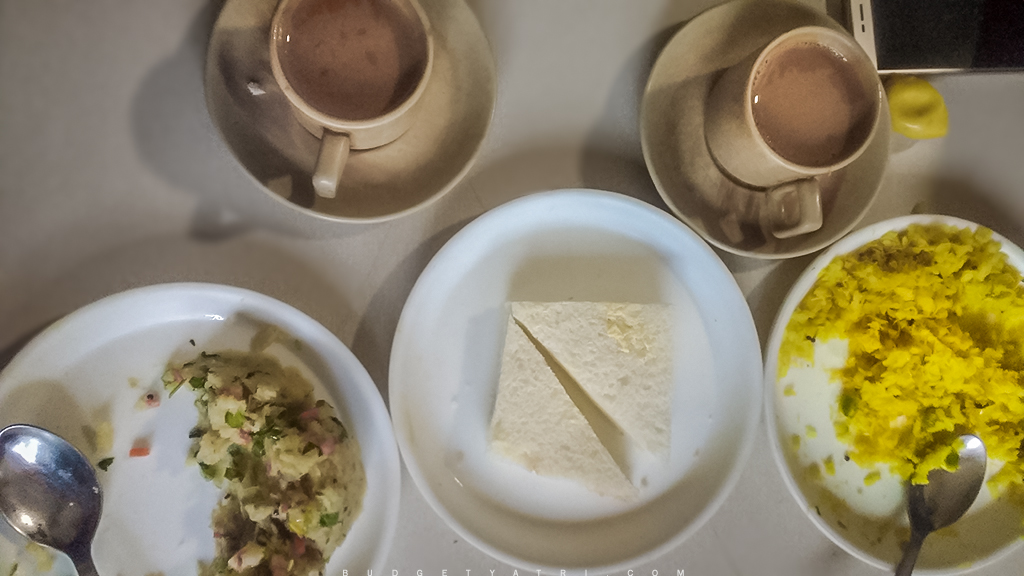 Indian snacks, morning breakfas, Chai, Poha, upma