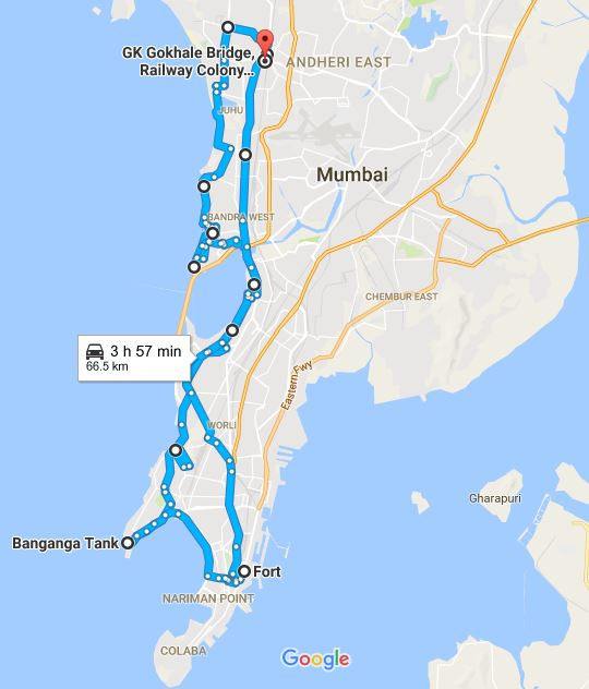 Around Mumbai on Bicycle