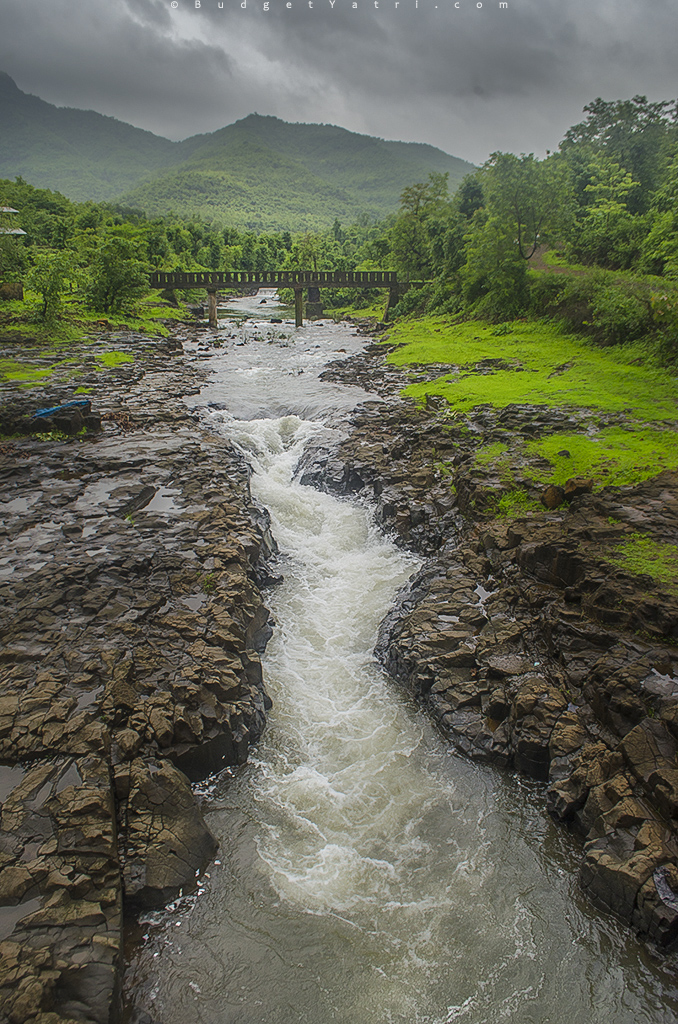 Vashishti river source, Western ghat, Rivers of India
