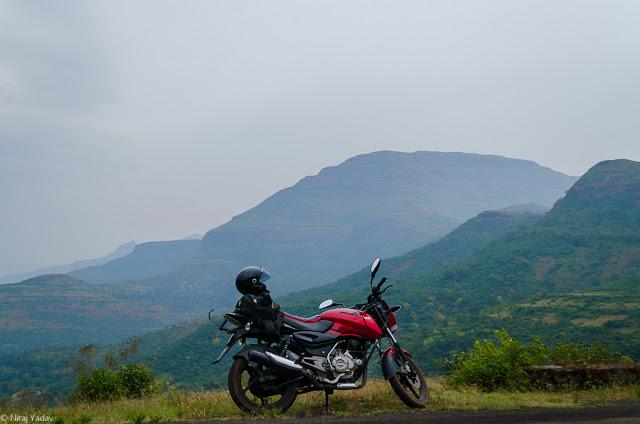 bike trip to bhandardara