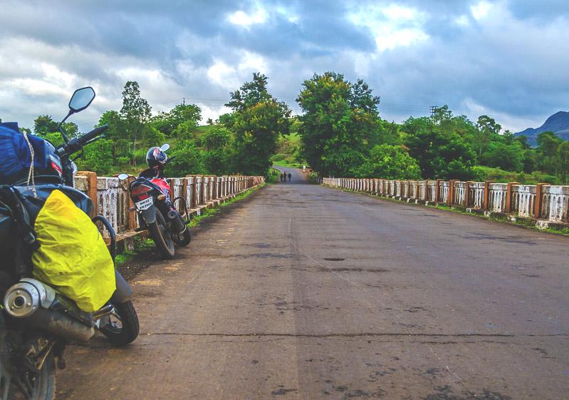 Bike trip to Purushwadi