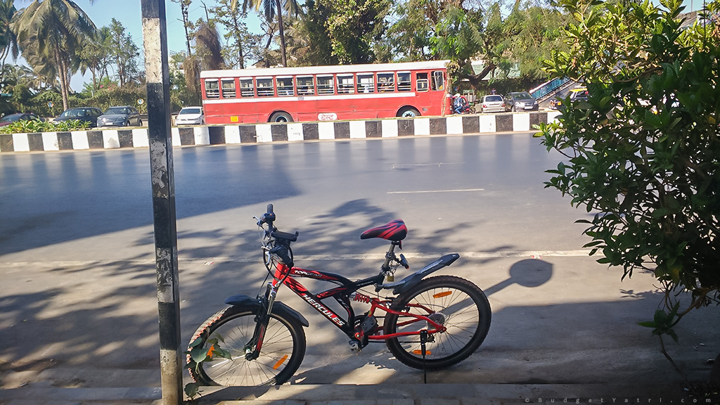 Solo Cycle ride Mumbai