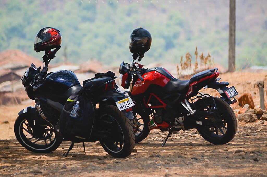 Bajaj Dominar 400 Malshej Ghat bike trip