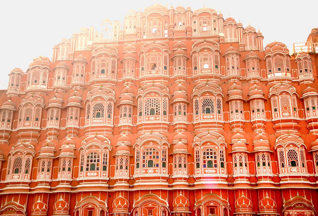 Jaipur Hawa Mahal photo