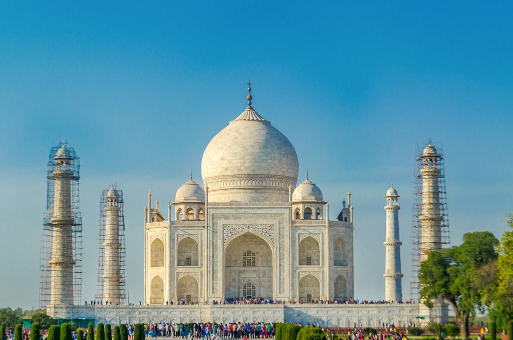 Bike trip Taj Mahal