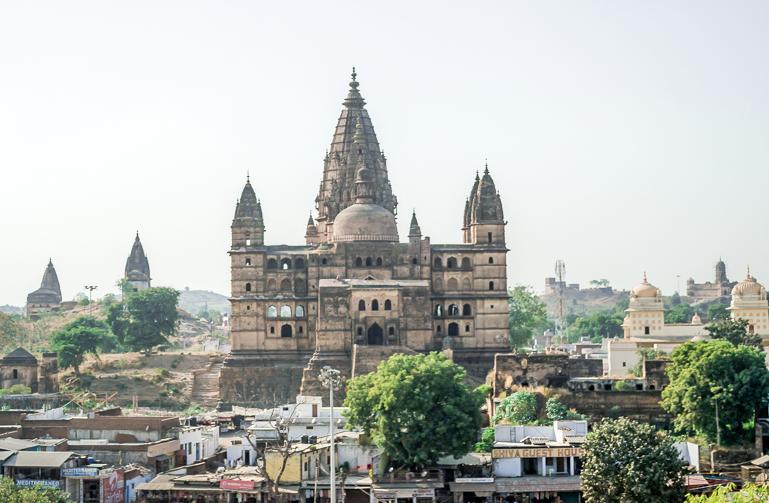 Raja Ram Temple in Orchha Madhya Pradesh